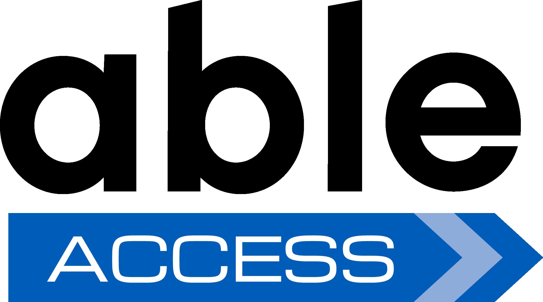 Able Access Logo
